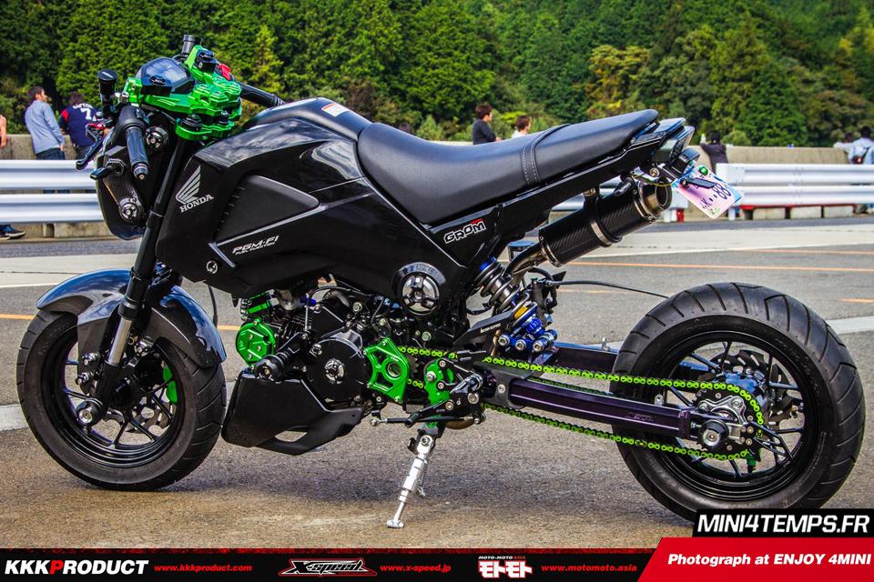 Honda MSX Kingfisher Black - mini4temps.fr