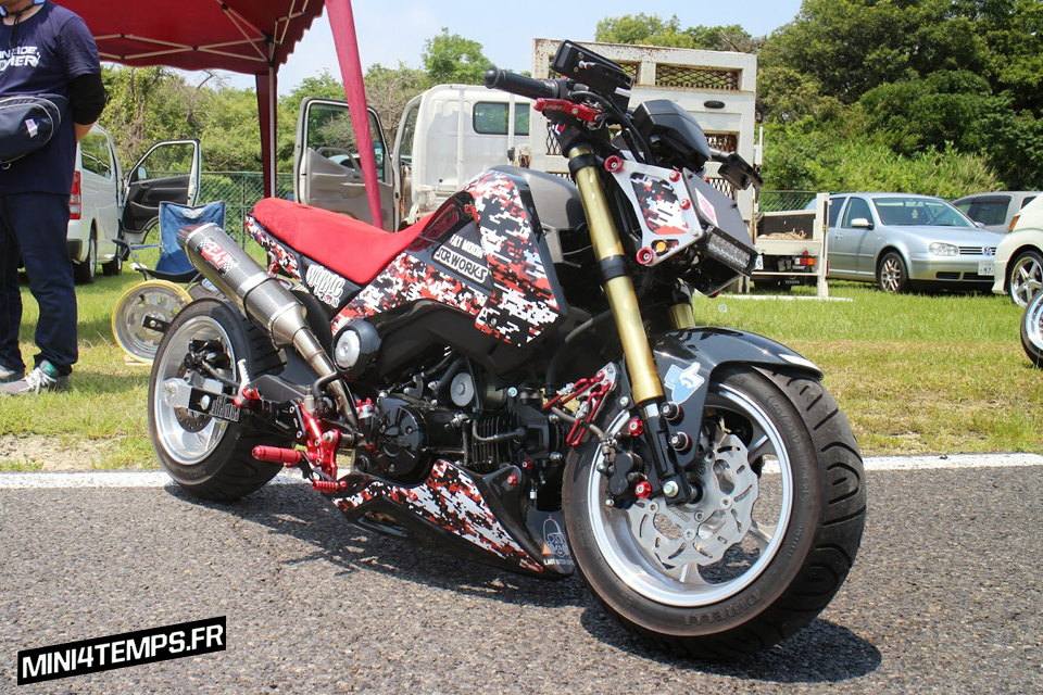 Le Honda MSX 125 de SCR_Works - Composimo - mini4temps.fr