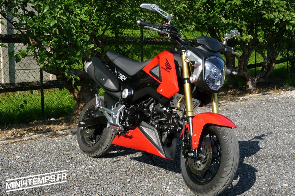 Honda MSX 125 Red - mini4temps.fr
