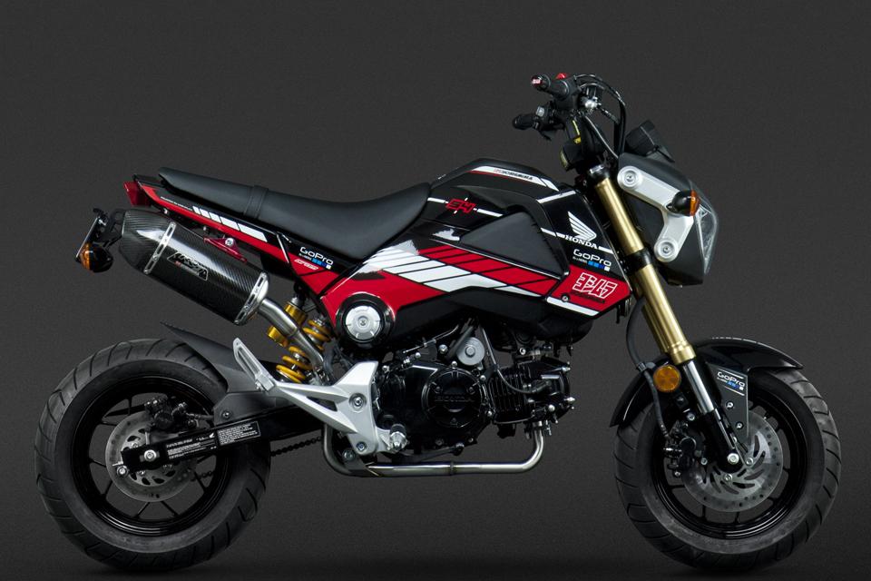 Honda MSX125 by Yoshimura - mini4temps.fr