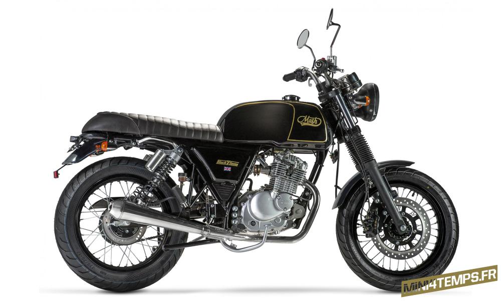 La Mash Black Seven 125 - mini4temps.fr