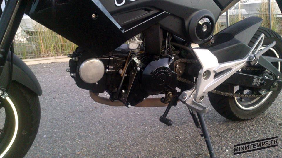 Monter un moteur 125 Zongshen avec un carbu vm24 sur un Motrac Urban