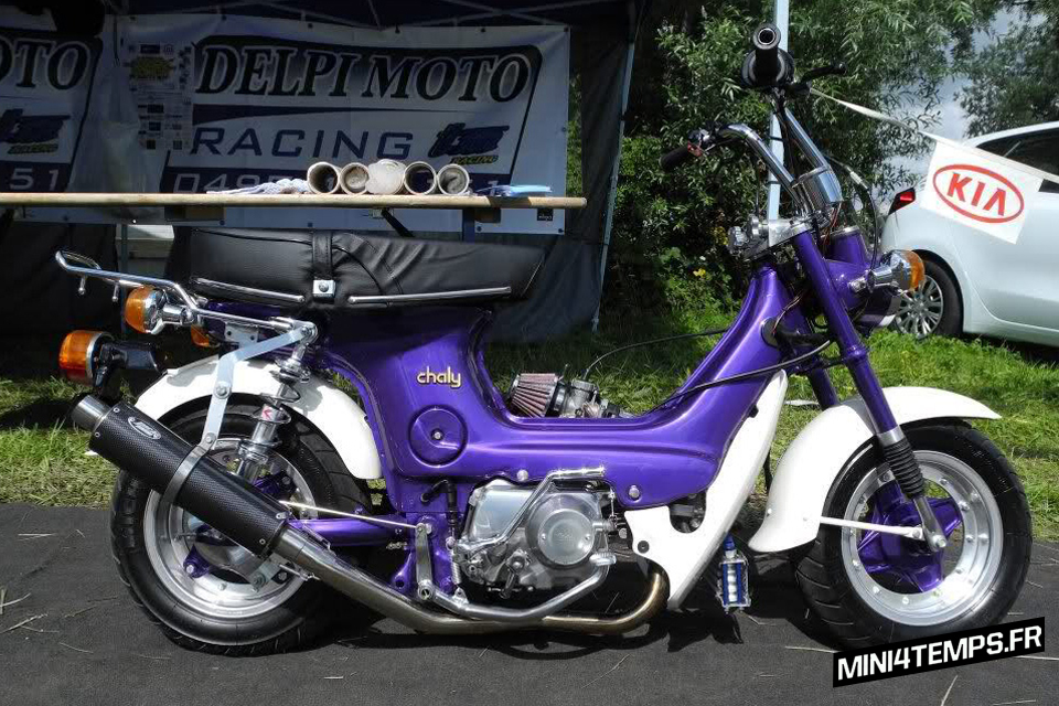 Honda Chaly Purple Lowrider - mini4temps.fr