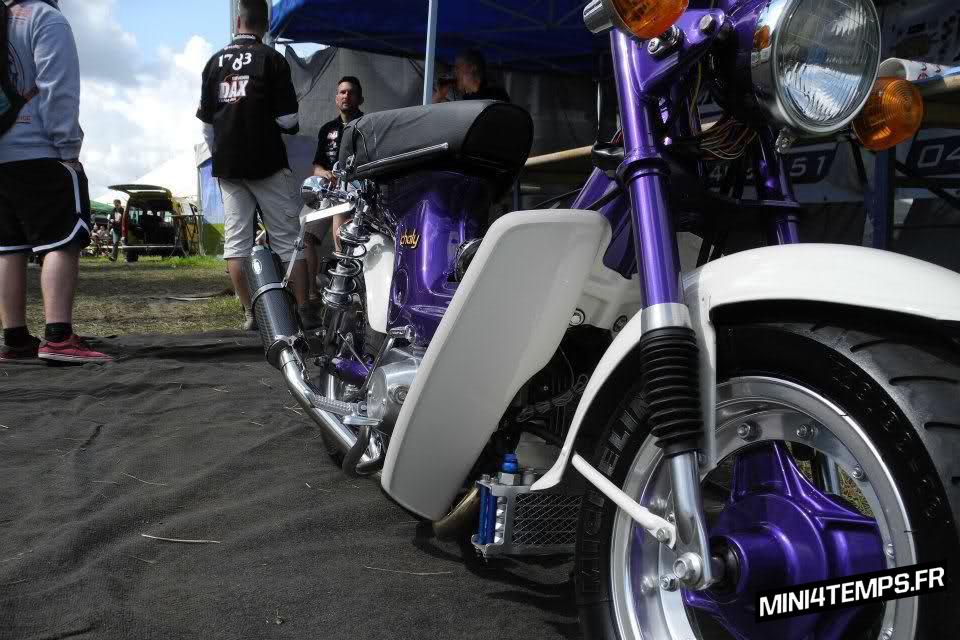 Honda Chaly Purple Lowrider - mini4temps.fr