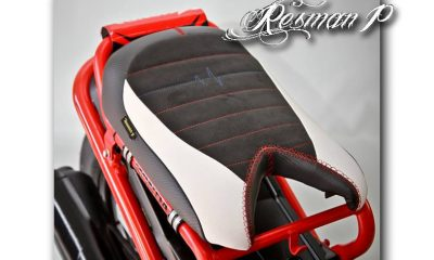 Selle sur-mesure pour Honda Zoomer - mini4temps.fr