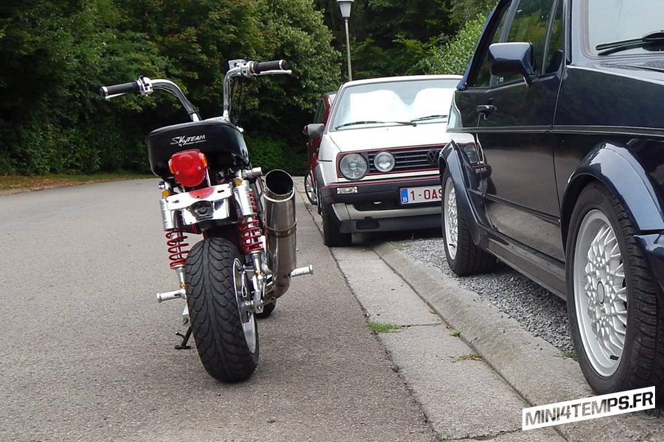 Skyteam Dax SE Chocolate avec Moteur Jincheng - mini4temps.fr