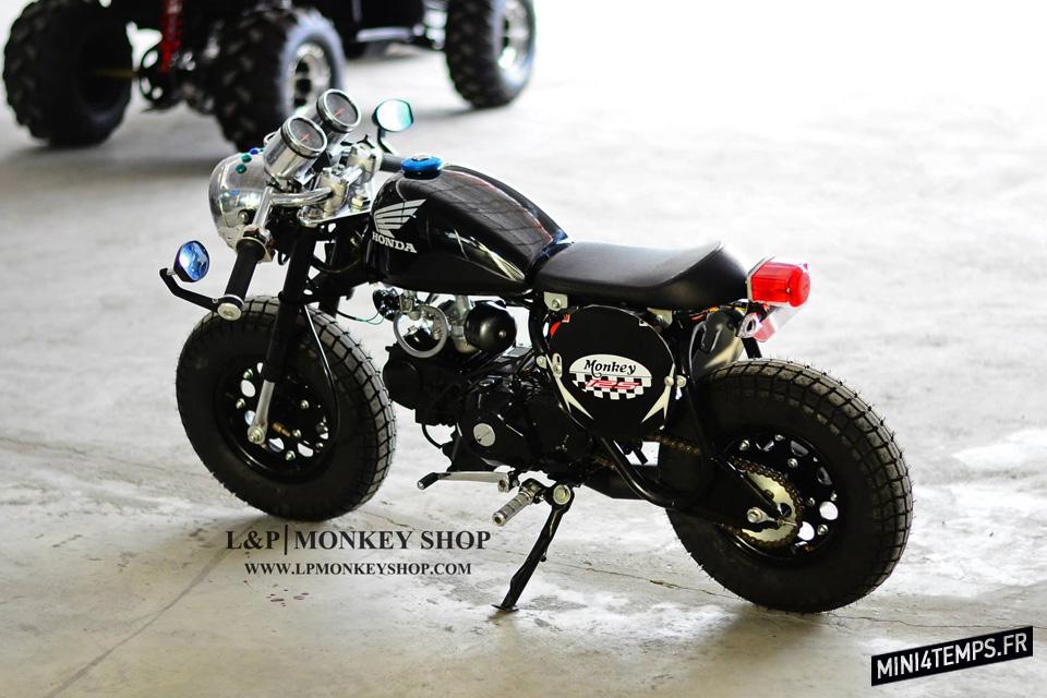 Le Monkey Café Racer Black de L&P Monkeyshop
