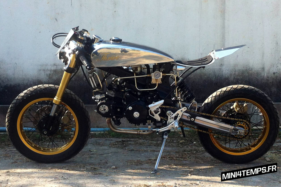 Thrive Big Honda MSX 125 cafe racer - mini4temps.fr