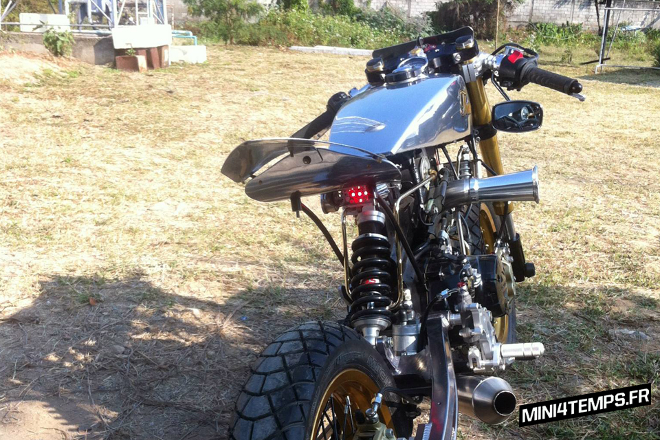 Thrive Big Honda MSX 125 cafe racer - mini4temps.fr