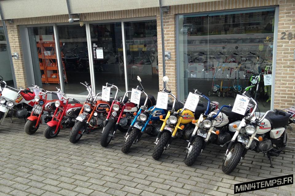 Corky's Scooter & Dax Shop : Monkey's Paradise ! - mini4temps.fr