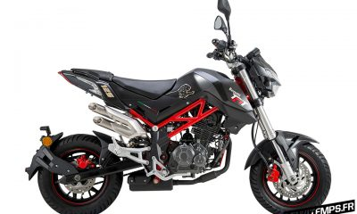 La Benelli TNT 125 en concession en avril 2017 ! - mini4temps.fr