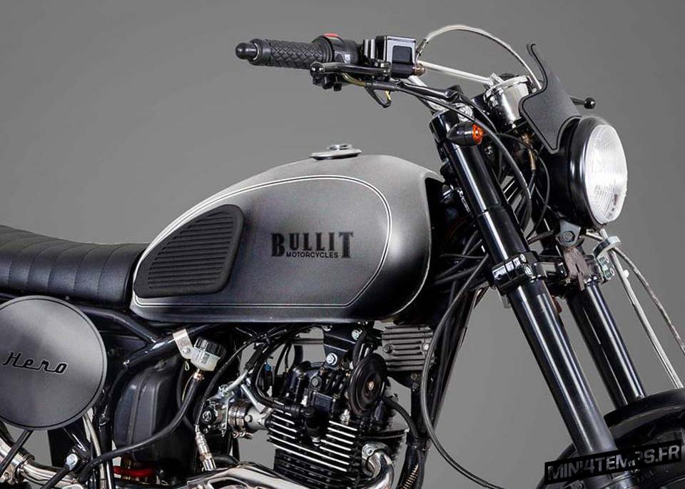 Bullit Hero 125 : un néo-rétro scrambler dispo en avril 2017 ! - mini4temps.fr