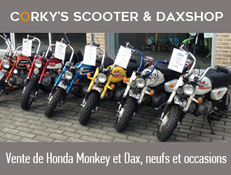 Corky's Scooter and Dax Shop in Belgium
