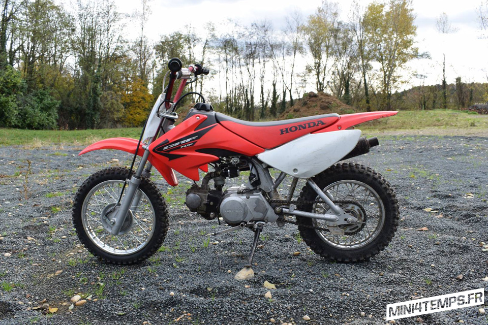 Honda CRF70 by l'Atelier 1969 - mini4temps.fr