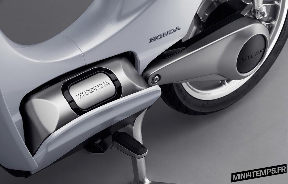 Honda Cub Ev-Cub électrique pour 2018 ? - mini4temps.fr