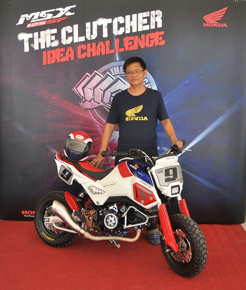 "Honda MSX 125 SF ""The Clutcher Idea Challenge"" - mini4temps.fr"