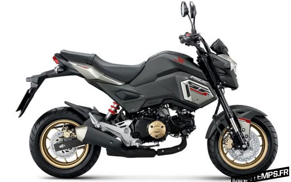 Un nouveau Honda MSX SF 125 avec ABS ! - mini4temps.fr