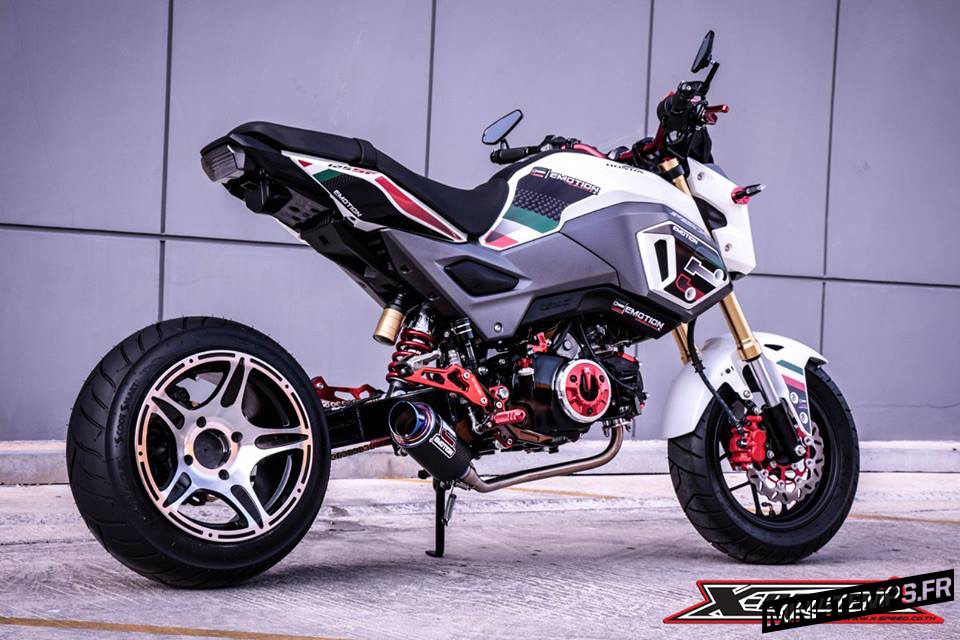 Honda MSX 125 SF by X-Speed Land Thailand - mini4temps.fr
