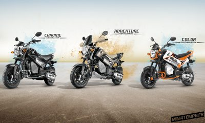 Honda Navi : Minibike of the Year 2017 ! - mini4temps.fr