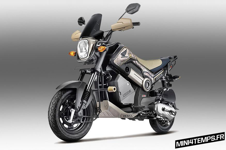 Honda Navi 2017 avec le Kit Adventure - mini4temps.fr