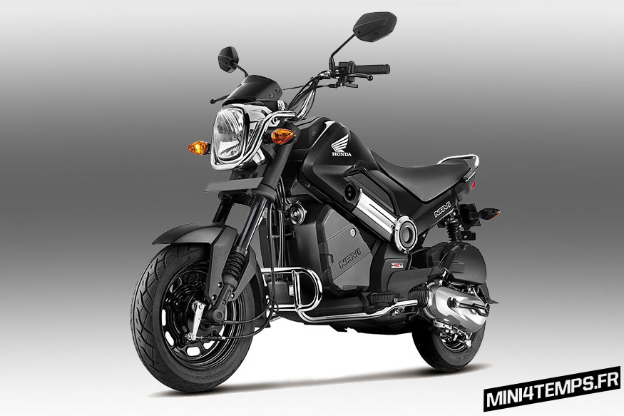 Honda Navi 2017 avec le Kit Chrome - mini4temps.fr