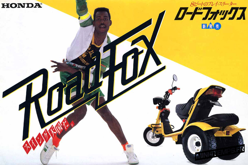 Publicité Vintage Scooter Honda Road Fox 1984 - mini4temps.fr