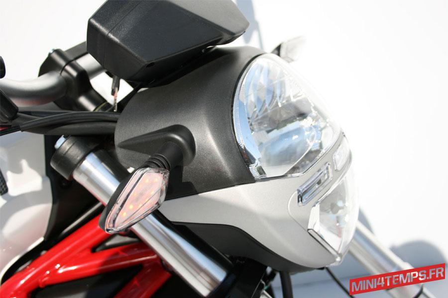 Magpower Bombers Mini Roadster Ducati - mini4temps.fr