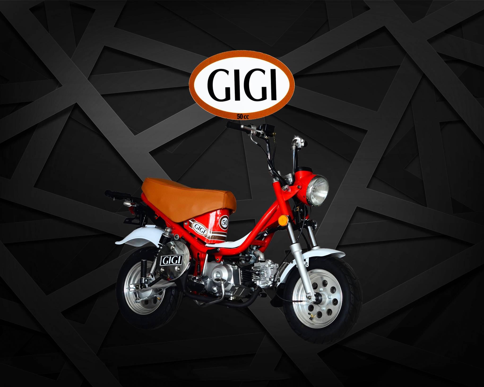 Gigi, le Chappy thaïlandais, réplique du Yamaha Chappy ! mini4temps.fr