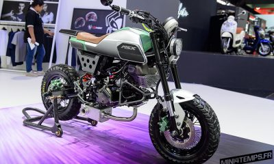 Honda MSX 125 SF Scrambler du Bangkok International Motor Show 2017 - mini4temps.fr