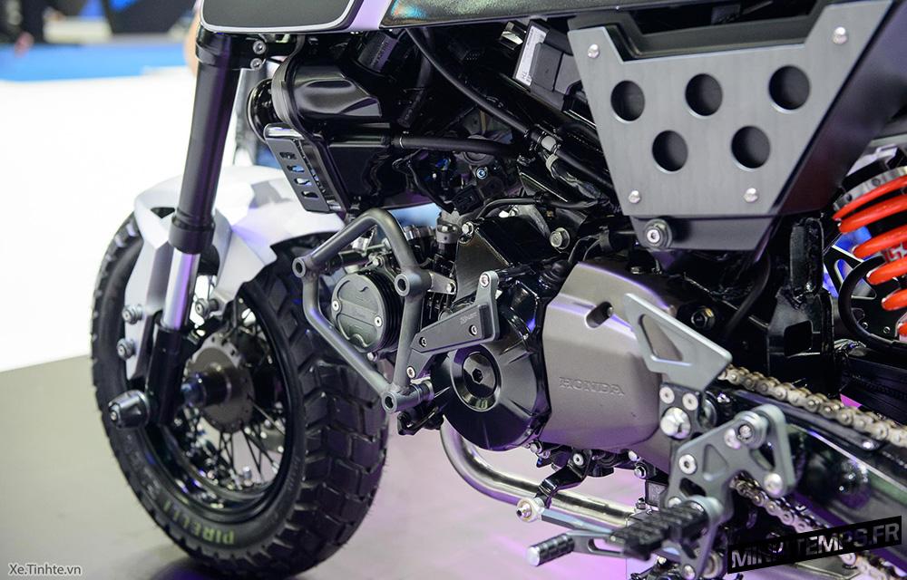 Honda MSX 125 SF Scrambler du Bangkok International Motor Show 2017 - mini4temps.fr