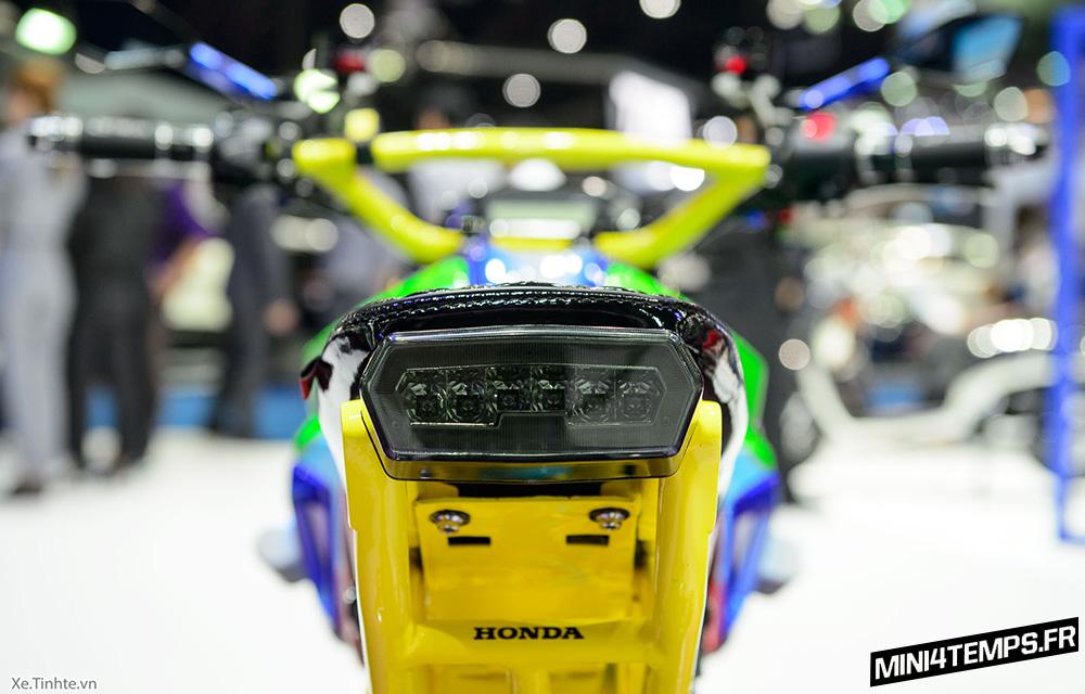 Honda MSX 125 SF Street Fashion du Bangkok International Motor Show 2017 - mini4temps.fr