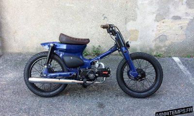 Le Honda Cub C90 de 56 Motorcycles pour Synapson - mini4temps.fr