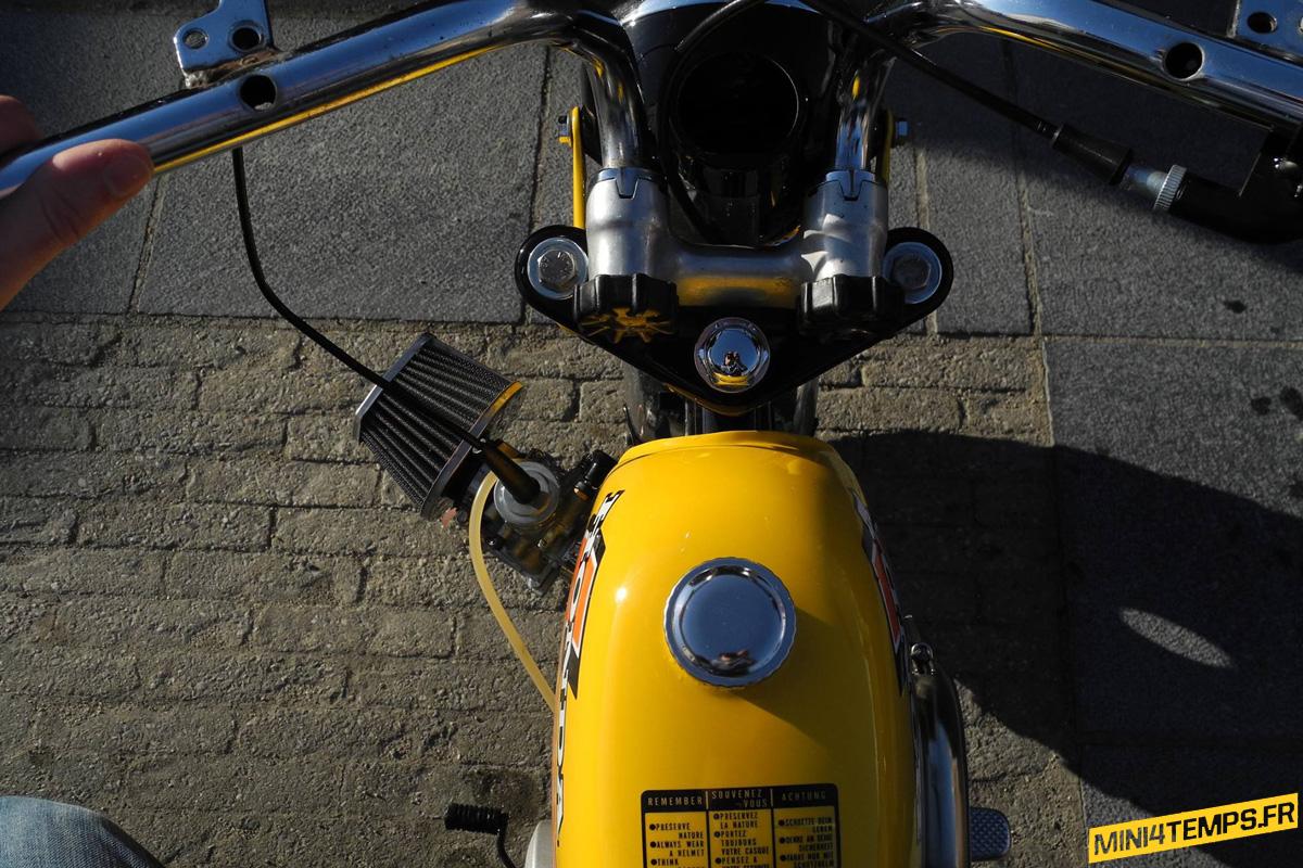 Le Honda Monkey Z50 J1 de Thibault - mini4temps.fr