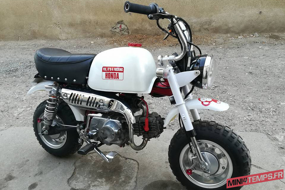 Le Honda Gorilla 88cc de JBR Parts - mini4temps.fr