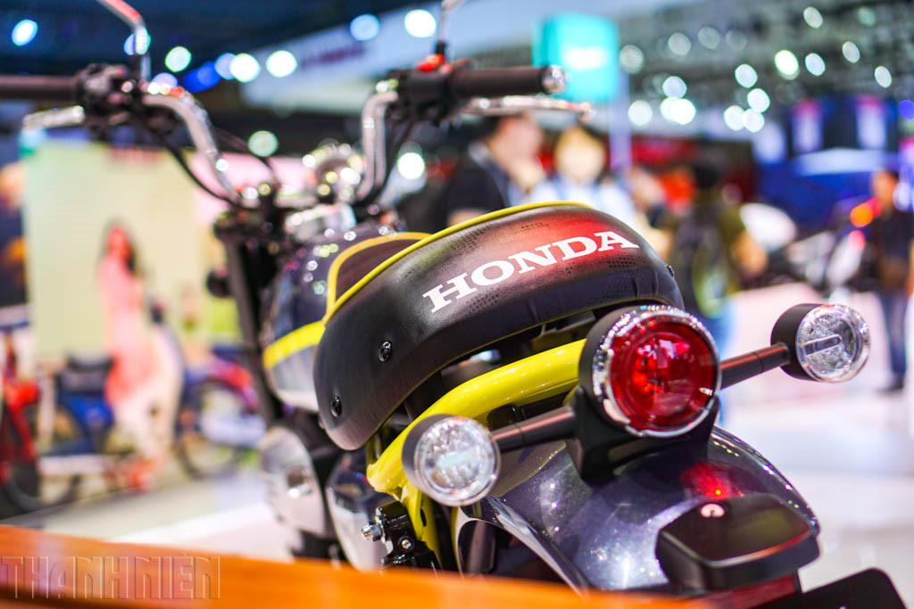 le concept bike honda monkey 125 au vietnam motorcycle show le site des. Black Bedroom Furniture Sets. Home Design Ideas