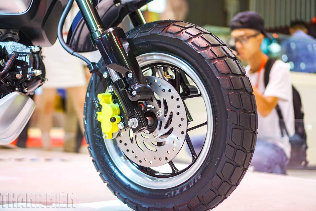 Présentation du concept-bike Honda Monkey 125 2017 - mini4temps.fr