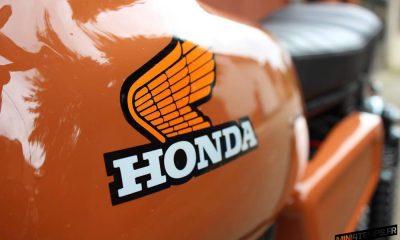 Honda CY80 Scrambler Bratstyle - mini4temps.fr