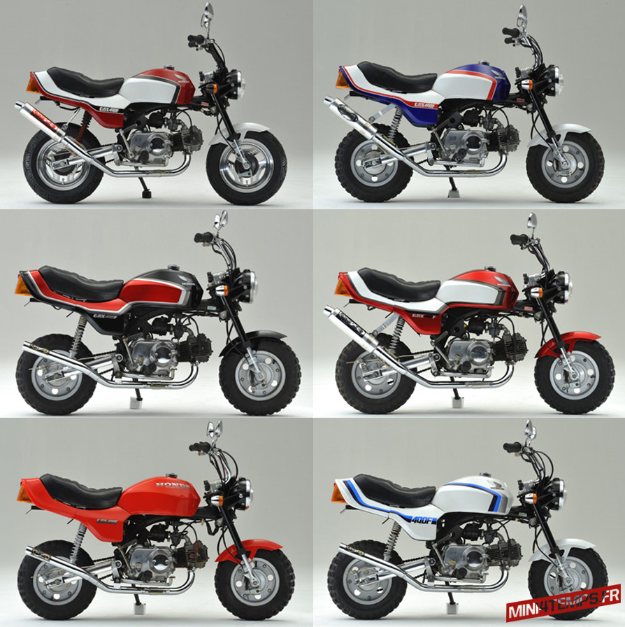 Transformer votre Honda Monkey en mini CBX 400F - mini4temps.fr