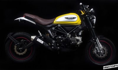Lifan sort la réplique du Ducati Scrambler : le Hunter 125cc - mini4temps.fr