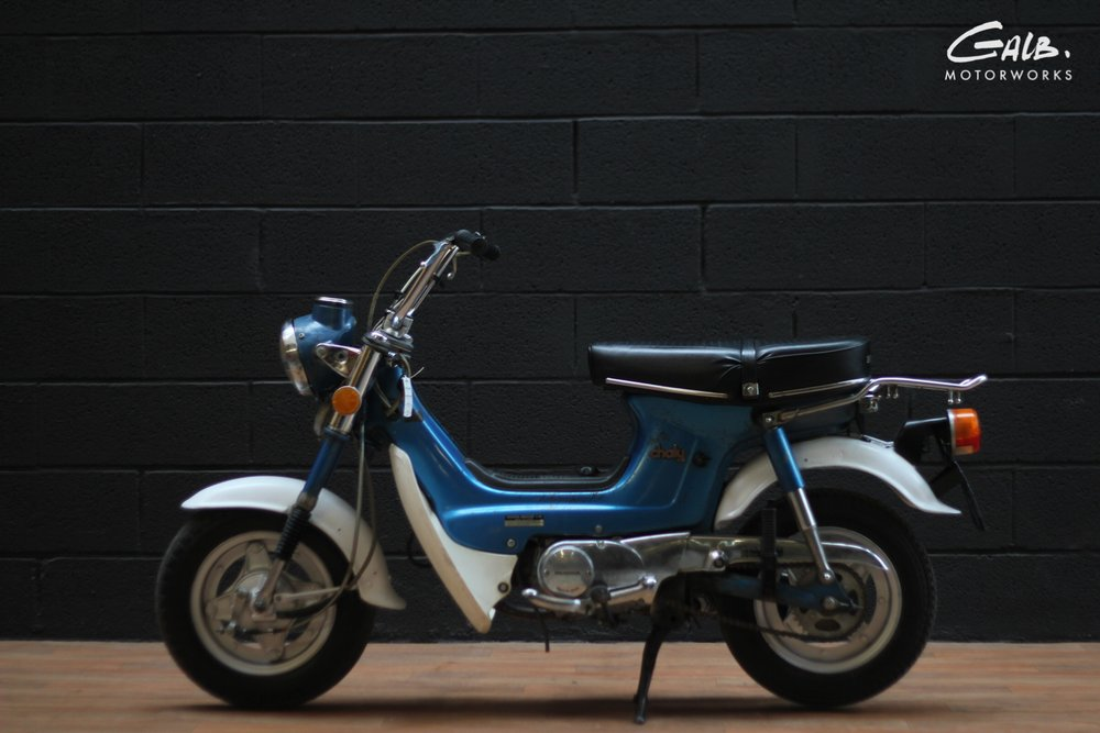 Honda Chaly by Galb Motorworks - mini4temps.fr