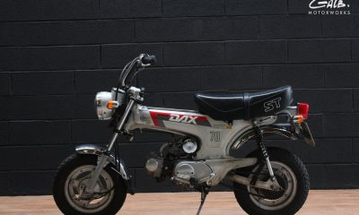 Honda Dax ST70 by Galb Motorcycles - mini4temps.fr