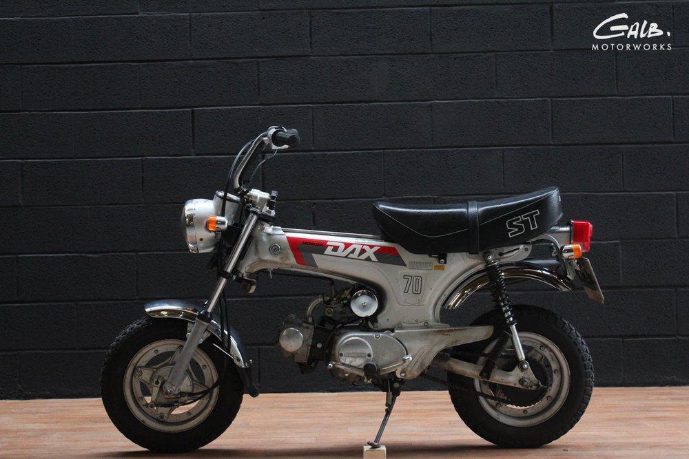 Honda Dax ST70 by Galb Motorcycles - mini4temps.fr
