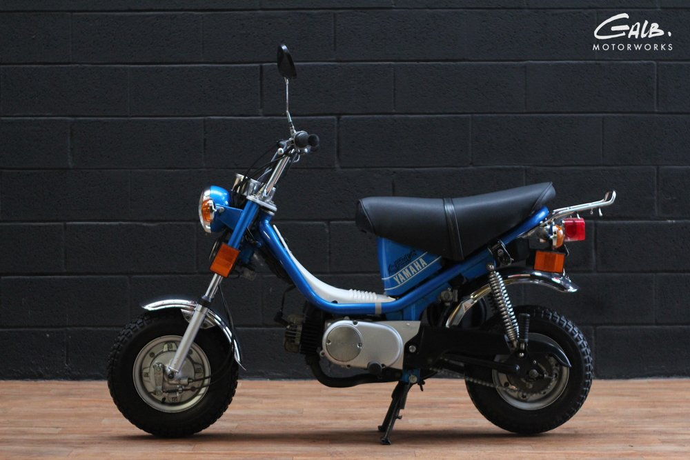 Yamaha Chappy by Galb Motorworks - mini4temps.fr