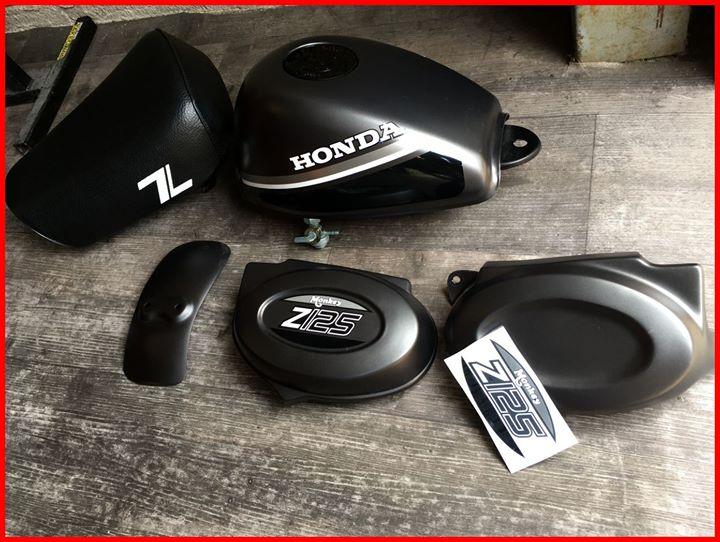Body Kit Honda Monkey - mini4temps Parts - mini4temps.fr
