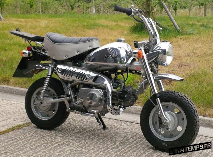 Honda Monkey Chrome - mini4temps.fr