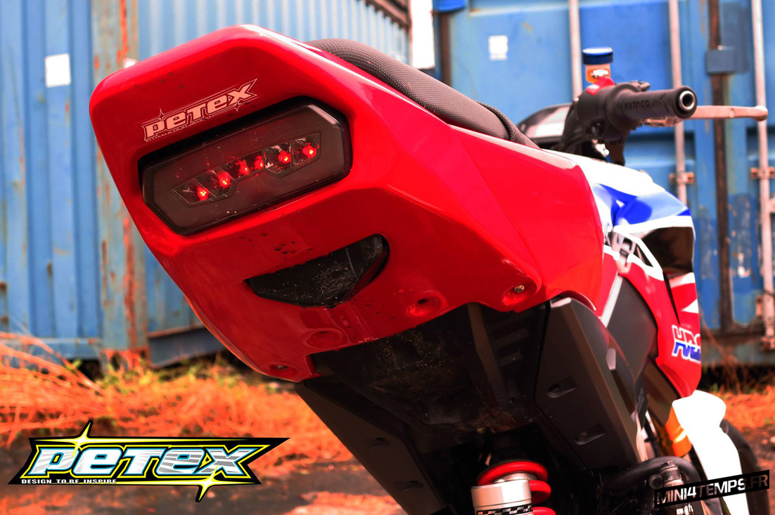 Honda MSX 125 SF Tri-color Petex Edition - mini4temps.fr