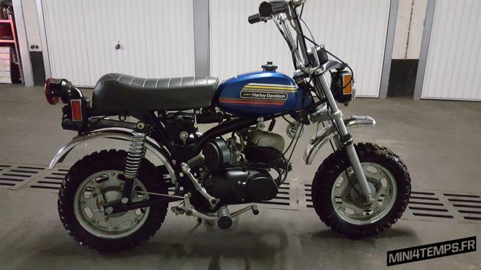 Minimoto Harley Davidson X90 - mini4temps.fr