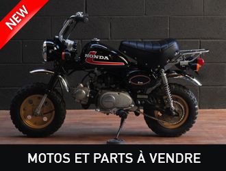 Motos Mini4Temps et Parts Mini4Temps à vendre