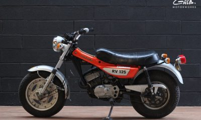 Suzuki RV125 Van Van by Galb Motorworks - mini4temps.fr