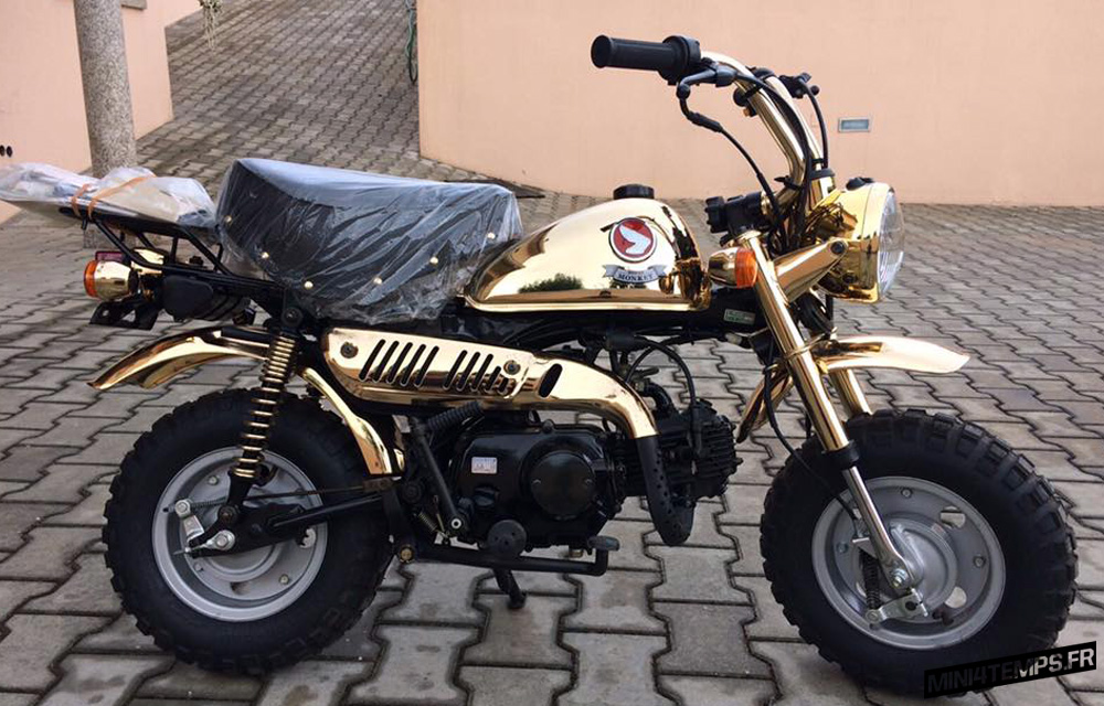 Honda Monkey Z50J Gold Limited Edition - mini4temps.fr